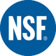 NSF logo, NSF certified pool chemical, Orenda NSF