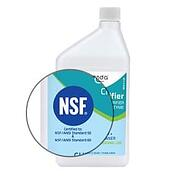 NSF logo on CE-Clarifier