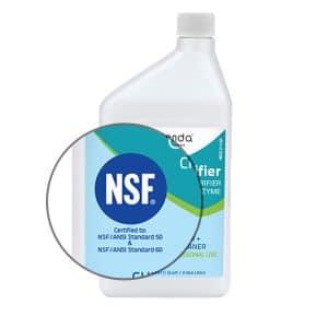 NSF/ANSI 50 Certified, nsf certified, nsf certification, nsf 50, orenda nsf